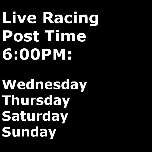 Live Racing 4 days a week